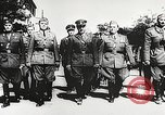 Image of Nazi Croatian leader Ante Pavelic Croatia, 1944, second 3 stock footage video 65675061098