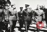 Image of Nazi Croatian leader Ante Pavelic Croatia, 1944, second 4 stock footage video 65675061098