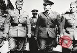Image of Nazi Croatian leader Ante Pavelic Croatia, 1944, second 5 stock footage video 65675061098