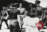 Image of Nazi Croatian leader Ante Pavelic Croatia, 1944, second 7 stock footage video 65675061098