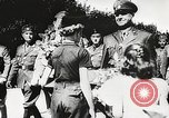 Image of Nazi Croatian leader Ante Pavelic Croatia, 1944, second 8 stock footage video 65675061098