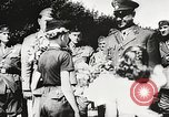 Image of Nazi Croatian leader Ante Pavelic Croatia, 1944, second 9 stock footage video 65675061098
