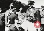 Image of Nazi Croatian leader Ante Pavelic Croatia, 1944, second 10 stock footage video 65675061098