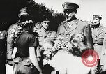 Image of Nazi Croatian leader Ante Pavelic Croatia, 1944, second 11 stock footage video 65675061098