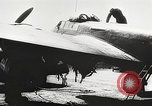 Image of Romanian pilots Romania, 1944, second 8 stock footage video 65675061099