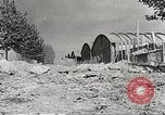 Image of damaged Le Bourget airfield Paris France, 1944, second 9 stock footage video 65675061109