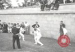 Image of fencers Montreal Quebec Canada, 1938, second 9 stock footage video 65675061119