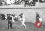 Image of fencers Montreal Quebec Canada, 1938, second 10 stock footage video 65675061119