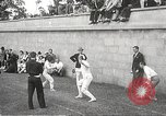 Image of fencers Montreal Quebec Canada, 1938, second 11 stock footage video 65675061119