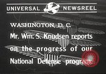 Image of William Knudsen Washington DC USA, 1940, second 1 stock footage video 65675061121