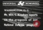 Image of William Knudsen Washington DC USA, 1940, second 7 stock footage video 65675061121