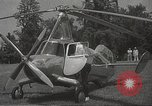 Image of autogyro rotorcraft Willow Grove Pennsylvania USA, 1940, second 3 stock footage video 65675061123