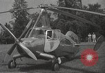 Image of autogyro rotorcraft Willow Grove Pennsylvania USA, 1940, second 4 stock footage video 65675061123