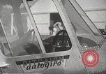 Image of autogyro rotorcraft Willow Grove Pennsylvania USA, 1940, second 10 stock footage video 65675061123