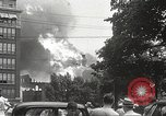 Image of burning building Camden New Jersey USA, 1940, second 9 stock footage video 65675061126