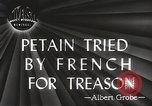 Image of Philippe Petain Paris France, 1945, second 5 stock footage video 65675061128