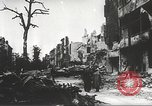 Image of ruins of Hitler's Berlin Berlin Germany, 1945, second 11 stock footage video 65675061131