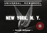 Image of subway train New York United States USA, 1939, second 1 stock footage video 65675061137