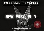 Image of subway train New York United States USA, 1939, second 2 stock footage video 65675061137