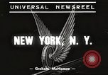 Image of subway train New York United States USA, 1939, second 3 stock footage video 65675061137