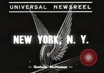 Image of subway train New York United States USA, 1939, second 4 stock footage video 65675061137