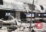 Image of bombed out buildings Sicily Italy, 1943, second 6 stock footage video 65675061154