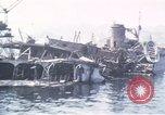 Image of wrecked ships Sicily Italy, 1943, second 9 stock footage video 65675061156