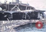 Image of wrecked ships Sicily Italy, 1943, second 10 stock footage video 65675061156