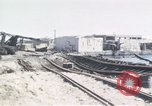 Image of wrecked locomotive Sicily Italy, 1943, second 6 stock footage video 65675061157