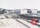 Image of wrecked locomotive Sicily Italy, 1943, second 9 stock footage video 65675061157