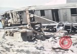 Image of wrecked locomotive Sicily Italy, 1943, second 11 stock footage video 65675061157