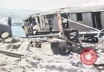 Image of wrecked locomotive Sicily Italy, 1943, second 12 stock footage video 65675061157