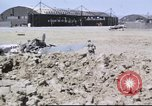 Image of captured airfield Sicily Italy, 1943, second 12 stock footage video 65675061167