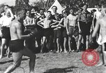 Image of Hitler Youth camp Offenburg Germany, 1942, second 8 stock footage video 65675061198