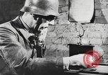Image of German forces repair telephone line Germany, 1944, second 5 stock footage video 65675061207