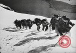 Image of German ski troops France, 1944, second 9 stock footage video 65675061208