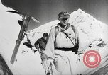 Image of German ski troops France, 1944, second 11 stock footage video 65675061208