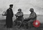 Image of US soldiers interview Hungarian military school boys Freyung Germany, 1945, second 5 stock footage video 65675061211