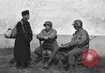 Image of US soldiers interview Hungarian military school boys Freyung Germany, 1945, second 7 stock footage video 65675061211