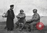 Image of US soldiers interview Hungarian military school boys Freyung Germany, 1945, second 8 stock footage video 65675061211