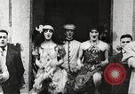 Image of World War 1 US soldiers watching drag queens perform France, 1918, second 7 stock footage video 65675061256