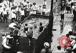 Image of home-made pool New York United States USA, 1922, second 3 stock footage video 65675061269