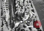 Image of US forces landing on Normandy beaches on D-Day France, 1944, second 10 stock footage video 65675061279