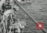 Image of US forces landing on Normandy beaches on D-Day France, 1944, second 11 stock footage video 65675061279