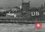 Image of Allied landing craft Normandy France, 1944, second 6 stock footage video 65675061285