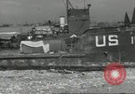 Image of Allied landing craft Normandy France, 1944, second 7 stock footage video 65675061285