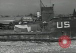 Image of Allied landing craft Normandy France, 1944, second 8 stock footage video 65675061285