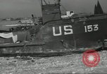 Image of Allied landing craft Normandy France, 1944, second 11 stock footage video 65675061285