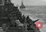 Image of Allied convoy English Channel, 1944, second 8 stock footage video 65675061301