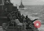Image of Allied convoy English Channel, 1944, second 10 stock footage video 65675061301
